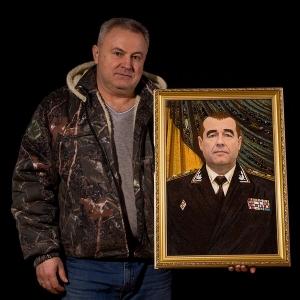 Изготовление янтарных портретов под заказ в Киеве