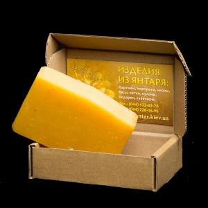 Янтарное мыло для лица и кожи тела. Натуральное мыло ручной работы из янтаря: вес 100 г. Стоимость янтарного мыла - 100 грн. Сопутствует выведению токсинов из кожи, противовоспалительное.