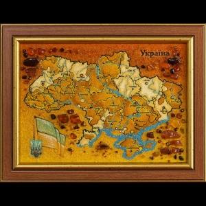 Янтарная карта Украины