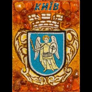 Янтарный герб Киева