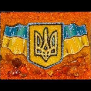 Янтарный флаг Украины