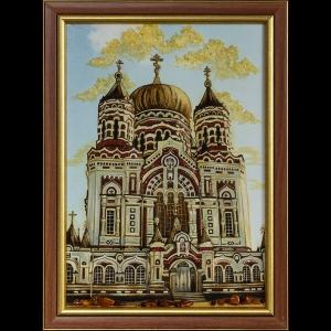 Вид Киева. Церковь Святого Пантелеймона