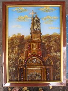 Виды Киева. Памятник Владимиру
