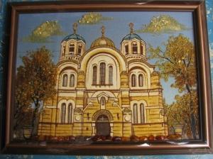 Виды Киева. Владимирская Церковь