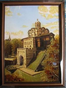 Вид Киева. Золотые Ворота