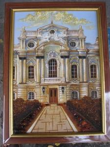 Вид Киева. Мариинский Дворец