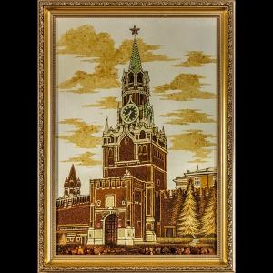 Вид Москвы. Спаская башня. 60х40 см.