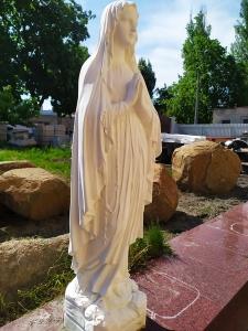 Скульптура Богородицы фото. Изготовление скульптуры Богородицы для сада, парковых аллей и террасс.