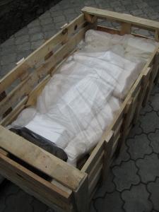 Доставка скульптуры Богородицы