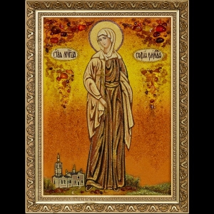 Икона из янтаря Св. Софии
