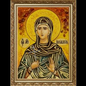 Икона из янтаря Святой Ульяны