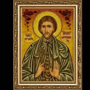 Икона из янтаря Св. Тимофея