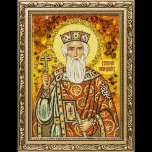Икона из янтаря Св. Владимира