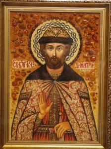 Икона Дмитрия Донского