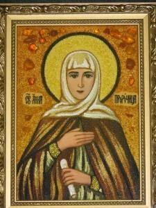 Икона Святой Анны Пророчицы