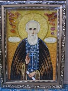 Икона Святого Сергия