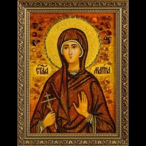 Икона из янтаря Св. Марины