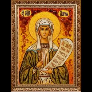Икона из янтаря Св. Дарьи
