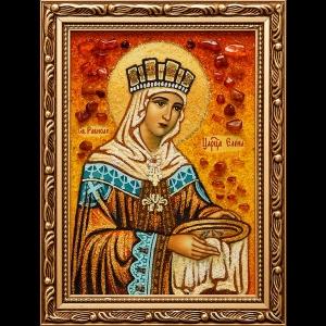 Икона из янтаря Св. Елены