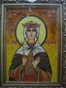 Икона Св. Людмила