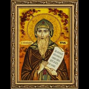 Икона из янтаря Св. Кирилла