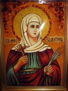 Икона Св. Валентина