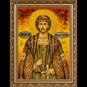 Икона из янтаря Святого Михаила