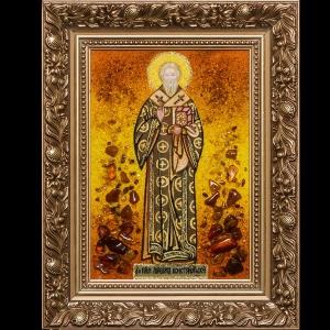 Икона из янтаря Святого Максима