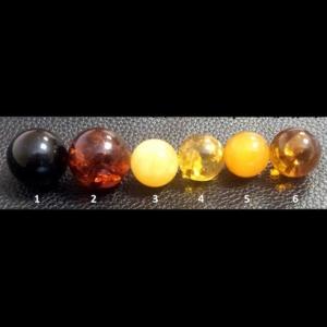 Прессованные шары из янтаря
