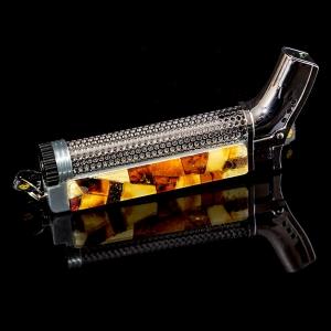 Янтарная зажигалка для трубки