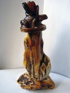 Подсвечники из янтаря царевна лягушка. Вес - 417 г. Высота 215 мм. Основа 110 х 65 мм. Цена договорная