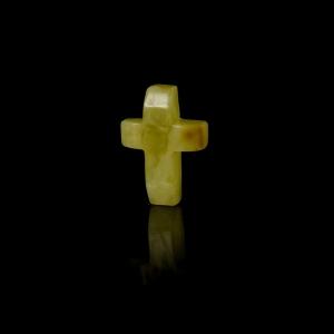 Сувенир янтарный крест