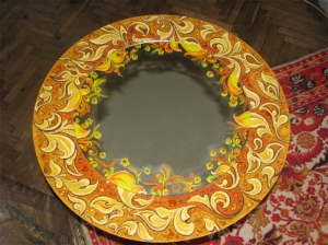 Зеркала из янтаря