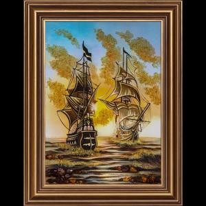 Картина Парусники море