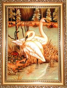 Картина птицы