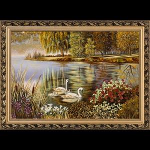 Картина Лебеди на реке