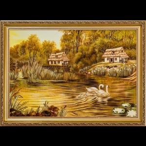 Картина Лебеди на озере