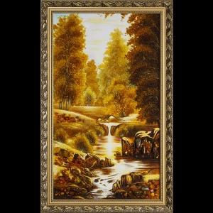 Картина ручей
