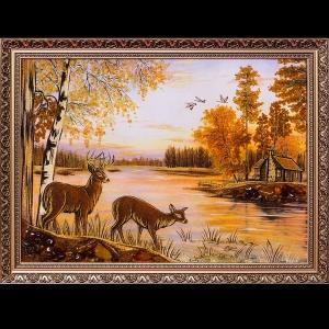 Картина олени