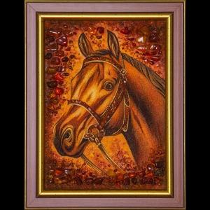Картина лошадь