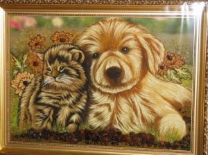 Картины домашние животные