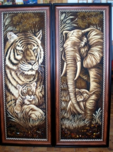 Панорамные картины животные