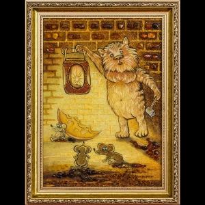 Картина кошки - мышки