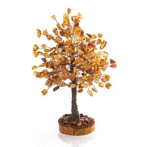 Дерево из янтаря - подарок к деньгам