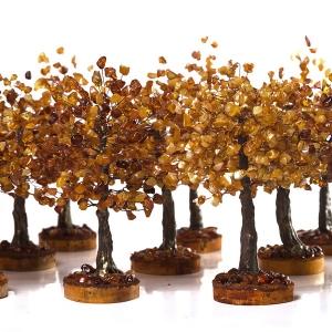 Сувениры янтарные деревья