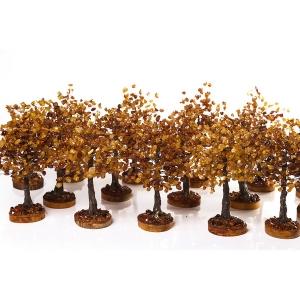 Подарочные деревья из янтаря