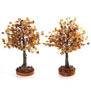 Янтарные деревья на подарок любимым