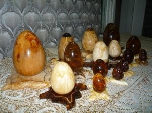 Сувениры из янтаря. Сувенир яйцо.