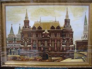 Картина вид Москвы. Государственный исторический музей. 40x60 cm.