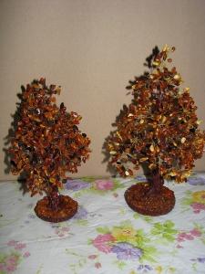 Янтарные деревья